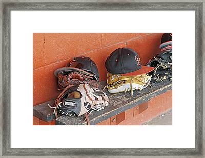 America's Pastime  Framed Print by Shoal Hollingsworth