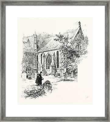 Amesbury The Chancel Framed Print by English School