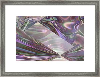 Amethyst Myst Framed Print by Ginny Schmidt