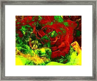 Amethyst Rose Morph #2 Framed Print by Elizabeth McTaggart