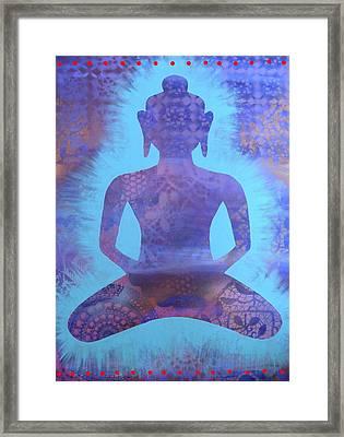 Amethyst Samadhi Framed Print by Cat Athena Louise
