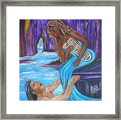 Amethyst - The Siren Framed Print