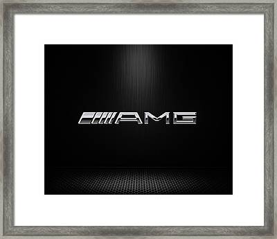 Amg Center Stage Framed Print by Douglas Pittman