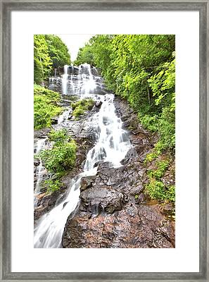 Amicalola Falls Framed Print by Gordon Elwell