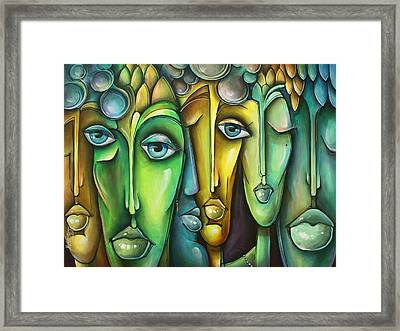 'amicis' Framed Print by Michael Lang
