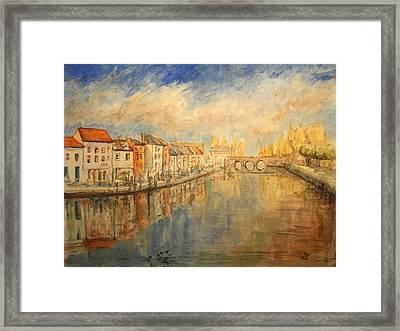 Amiens France Framed Print