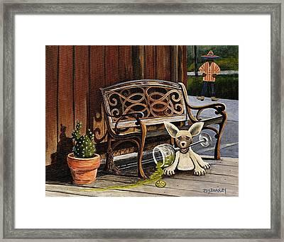 Amigo Framed Print by Joy Bradley