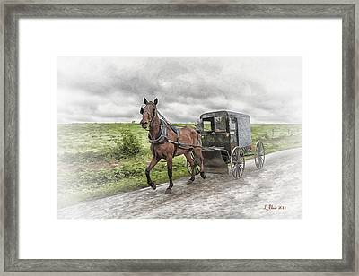 Amish Country Framed Print
