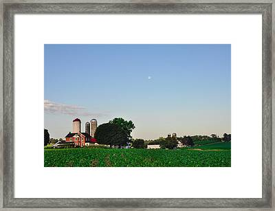 Amish Farm - Lancaster County Framed Print by Bill Cannon