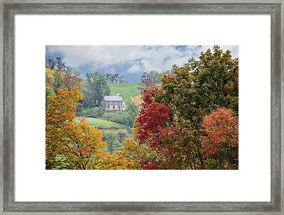 Scenic Amish Landscape 8 Framed Print by SharaLee Art