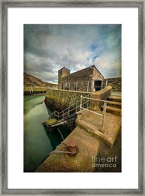Amlwch Port Lighthouse V2 Framed Print