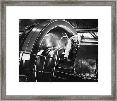 Ammonia Production, 1950s Framed Print by Hagley Archive