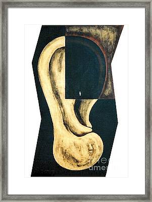 Framed Print featuring the painting Amnesia by Fei A