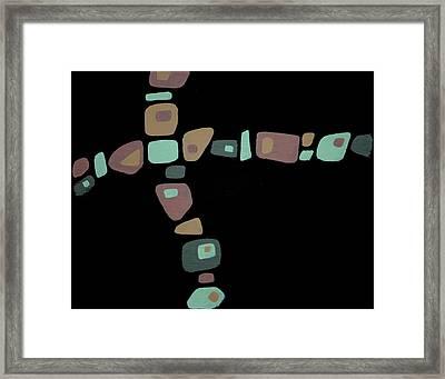 Amoeba 1 Framed Print
