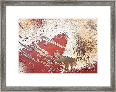 Amoeba  Amoebae Abstract Framed Print by Lee Craig