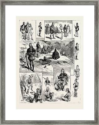 Among The Brigands In Smyrna, Turkey Framed Print