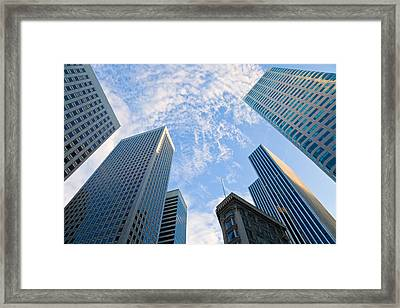 Among The Giants Framed Print by Jonathan Nguyen