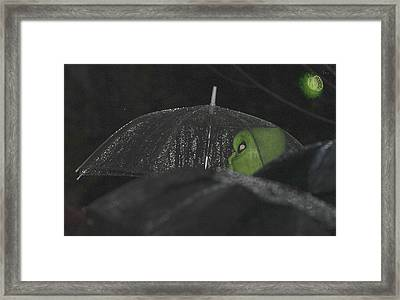 Among Us Framed Print by Gregory Whiting