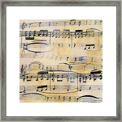 Amore In F Major Framed Print by Lanie Loreth