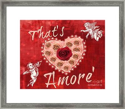 Amore Valentine Framed Print by Mindy Bench