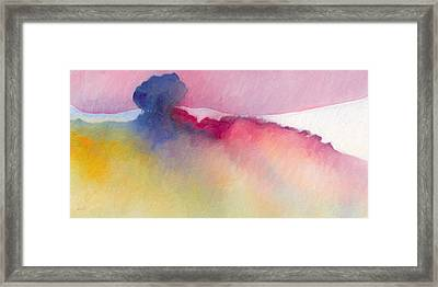 Framed Print featuring the painting Amorphous 48 by The Art of Marsha Charlebois