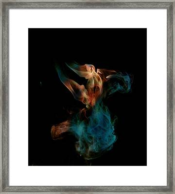 Amorphous Framed Print by Cecil Fuselier
