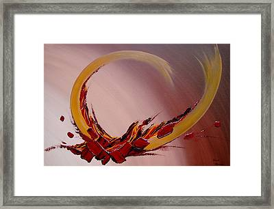 Amour Fou Framed Print by Thierry Vobmann