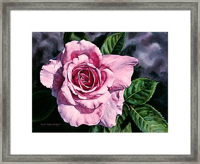 Amoure Framed Print