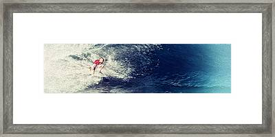 Amped Up Framed Print