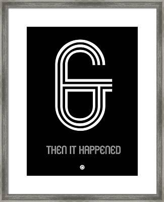 Ampersand Poster 5 Framed Print by Naxart Studio