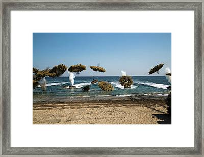 Amphibious Assault Training At Doksukri Framed Print by Stocktrek Images