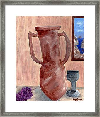 Amphora  Framed Print