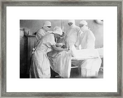 Amputation Surgery Framed Print