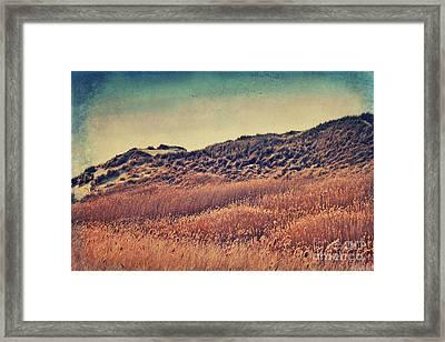 Amrum Dunes Framed Print by Angela Doelling AD DESIGN Photo and PhotoArt