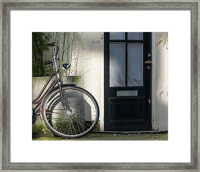 Amsterdam Bicycle #1 Framed Print