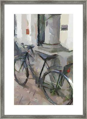 Amsterdam Bike Framed Print