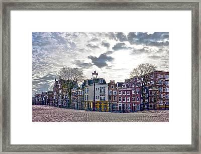 Amsterdam Bridges Framed Print