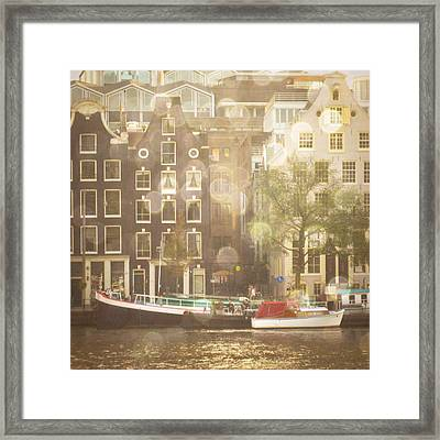 Amsterdam Framed Print by Cassia Beck