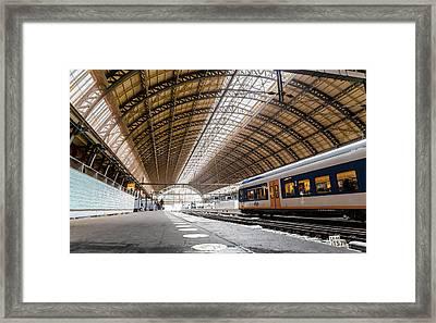 Amsterdam Centraal Railway Station Framed Print