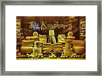 Amsterdam Cheese Shop Framed Print