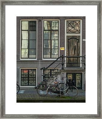 Amsterdam Facade #1 Framed Print