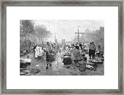 Amsterdam Fish Market Framed Print by Bildagentur-online/tschanz