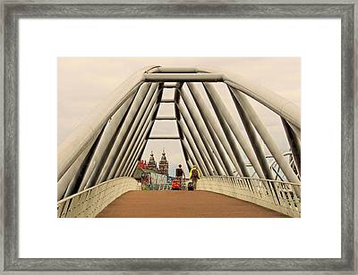 Amsterdam Good Bye Framed Print