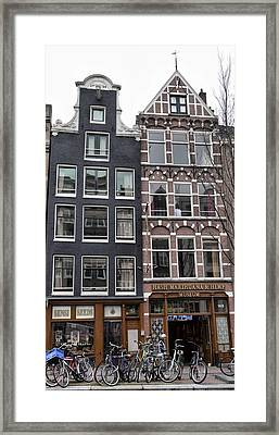 Amsterdam Hash Museum Framed Print by Mick Flynn