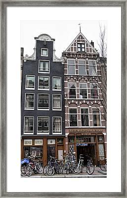 Amsterdam Hash Museum Framed Print