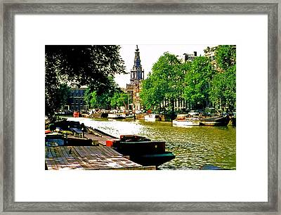 Framed Print featuring the photograph Amsterdam by Ira Shander
