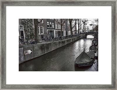 Amsterdam Framed Print by Joana Kruse