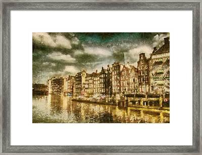 Amsterdam Framed Print by Jose Maqueda