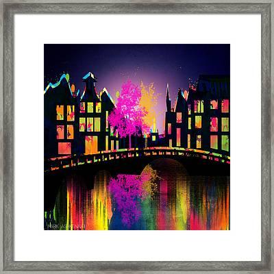 Amsterdam  Framed Print by Mark Ashkenazi