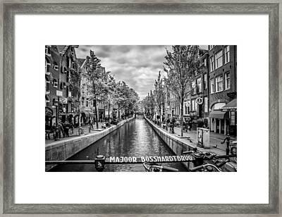 Amsterdam Framed Print by Melanie Viola